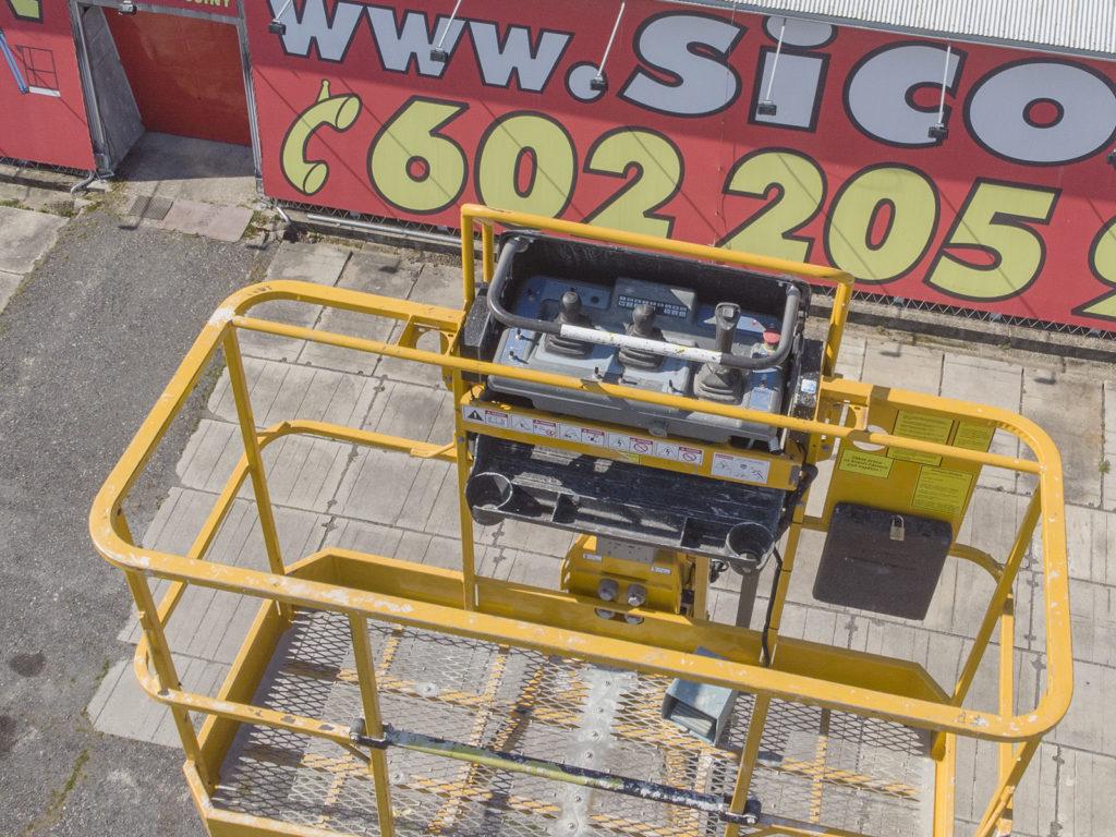 Teleskopická pracovní plošina Haulotte HT 23 RTJ PRO, SICO Rent