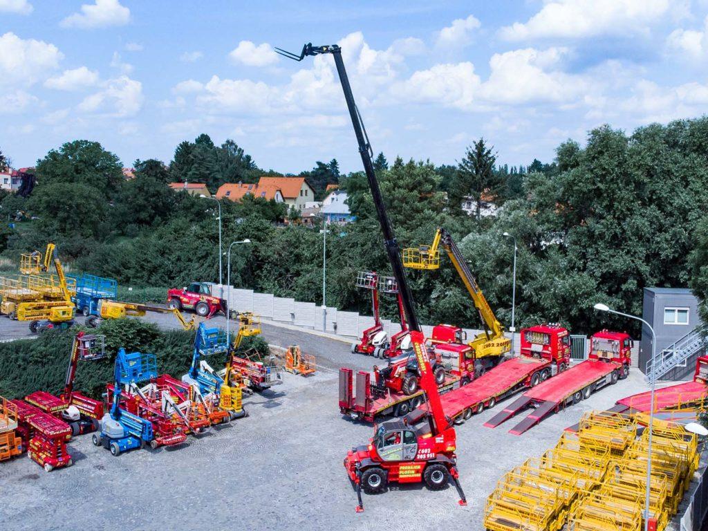 Manitou MRT 2150+ maximální pracovní výška 20,6m - SICO Rent
